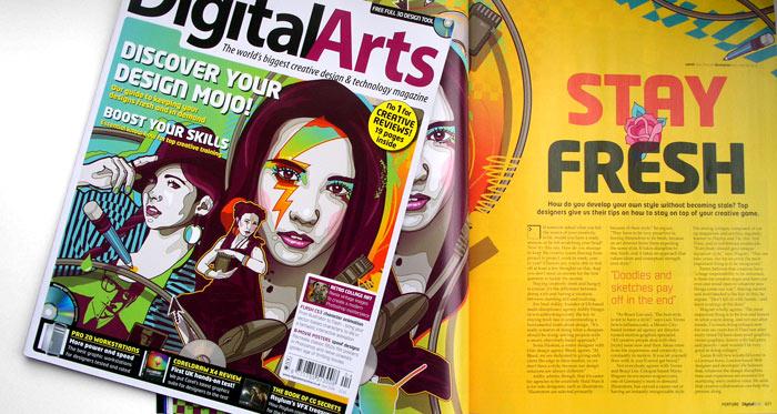 digital arts cover